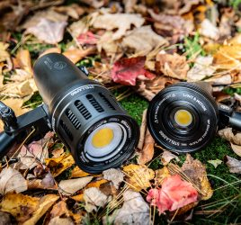 Stella Pro 5000 and Stella Pro 2000 continuous LED lights for photographers outdoors