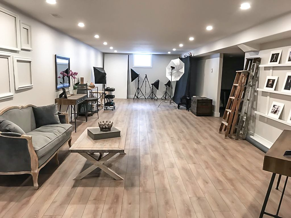 Alana Lee Photography: Inside the Alana Lee Photography studio in Port Hope Ontario