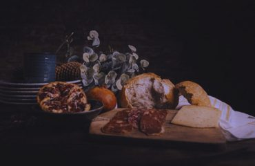 Alana Lee Photography: delicious chacuterie board with cheese, crackers and meats at alana lee photography studio in port hope