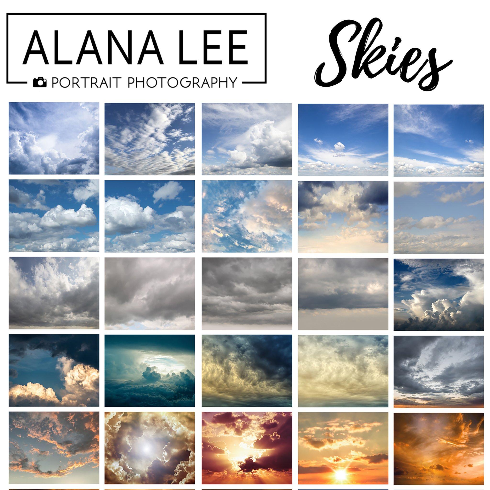 sky overlay set 1 for photographers