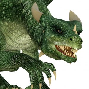full resolution close up of green dragon digital overlay for photoshop