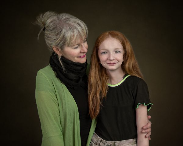 portrait of grandmother and granddaughter by alana lee photography