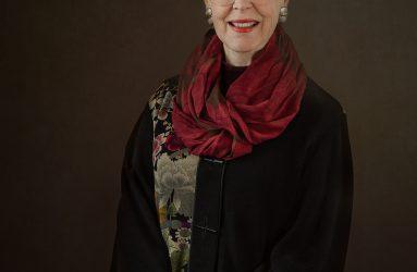 studio portrait of interior designer and author Moya McPhail