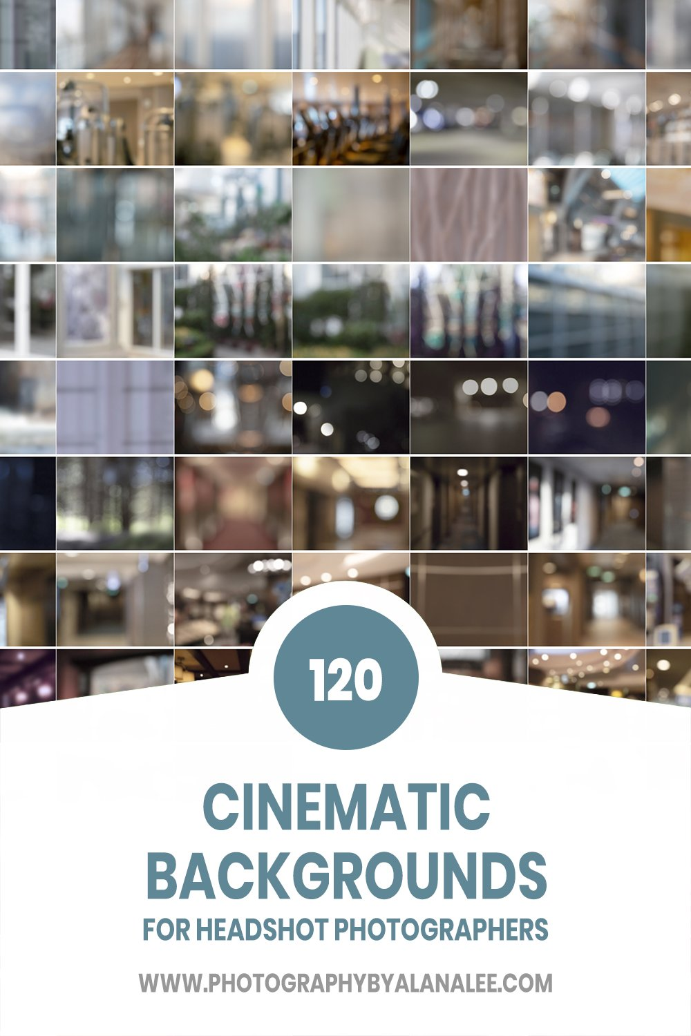 102 neutral toned cinematic digital backgrounds for headshot photographers